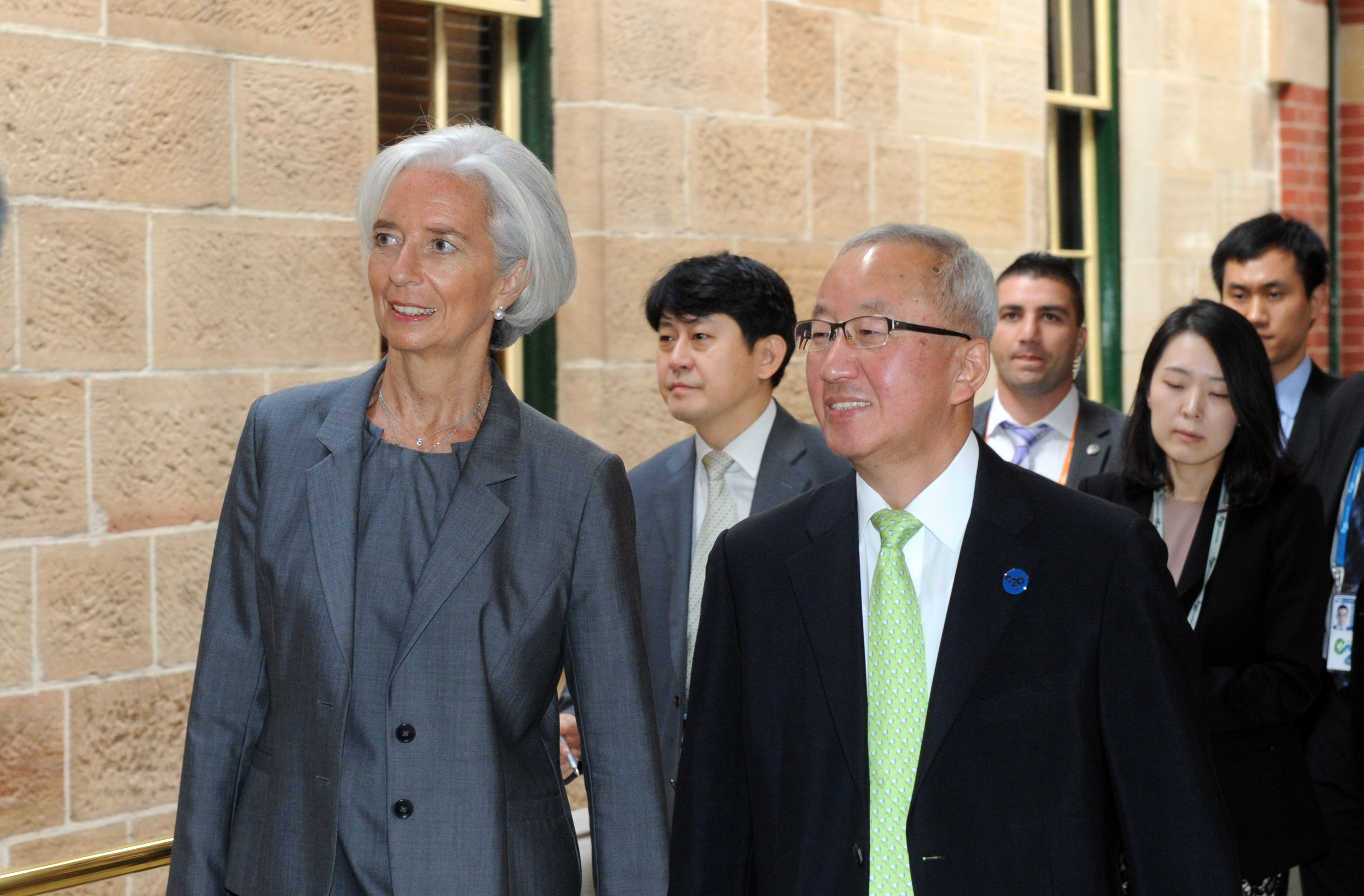 Deputy Prime Minister Hyun meets with IMF Managing Director Christine Lagarde