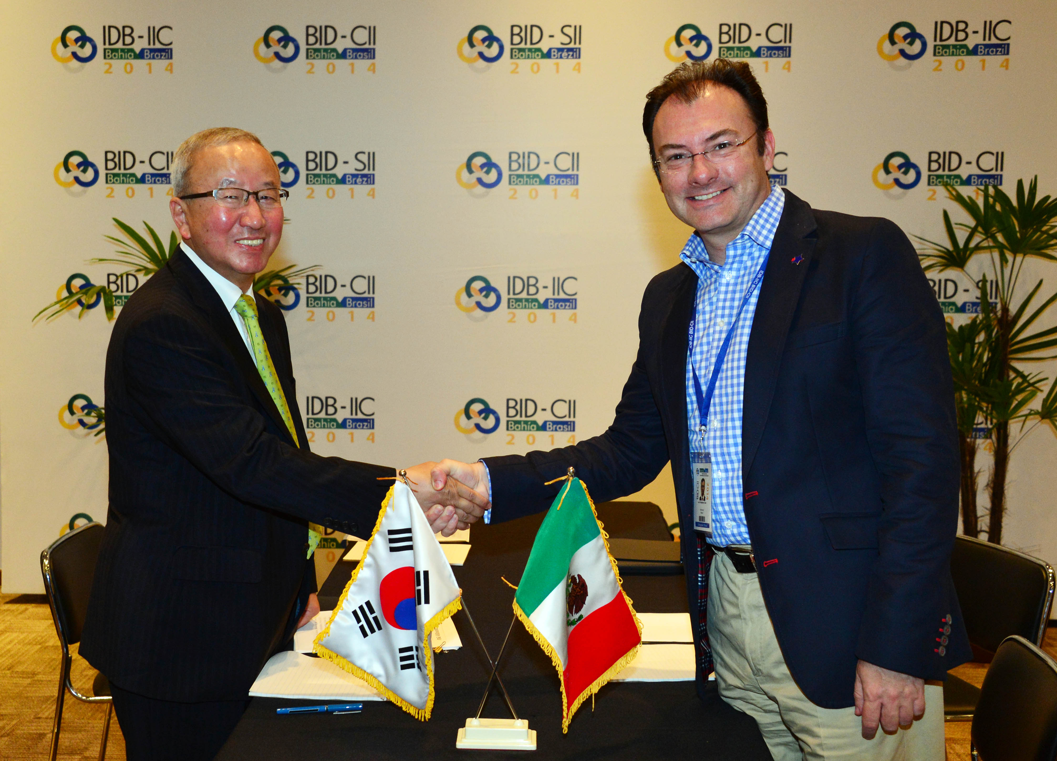 Deputy Prime Minister Hyun meets with Mexican Finance Minister Luis Videgaray