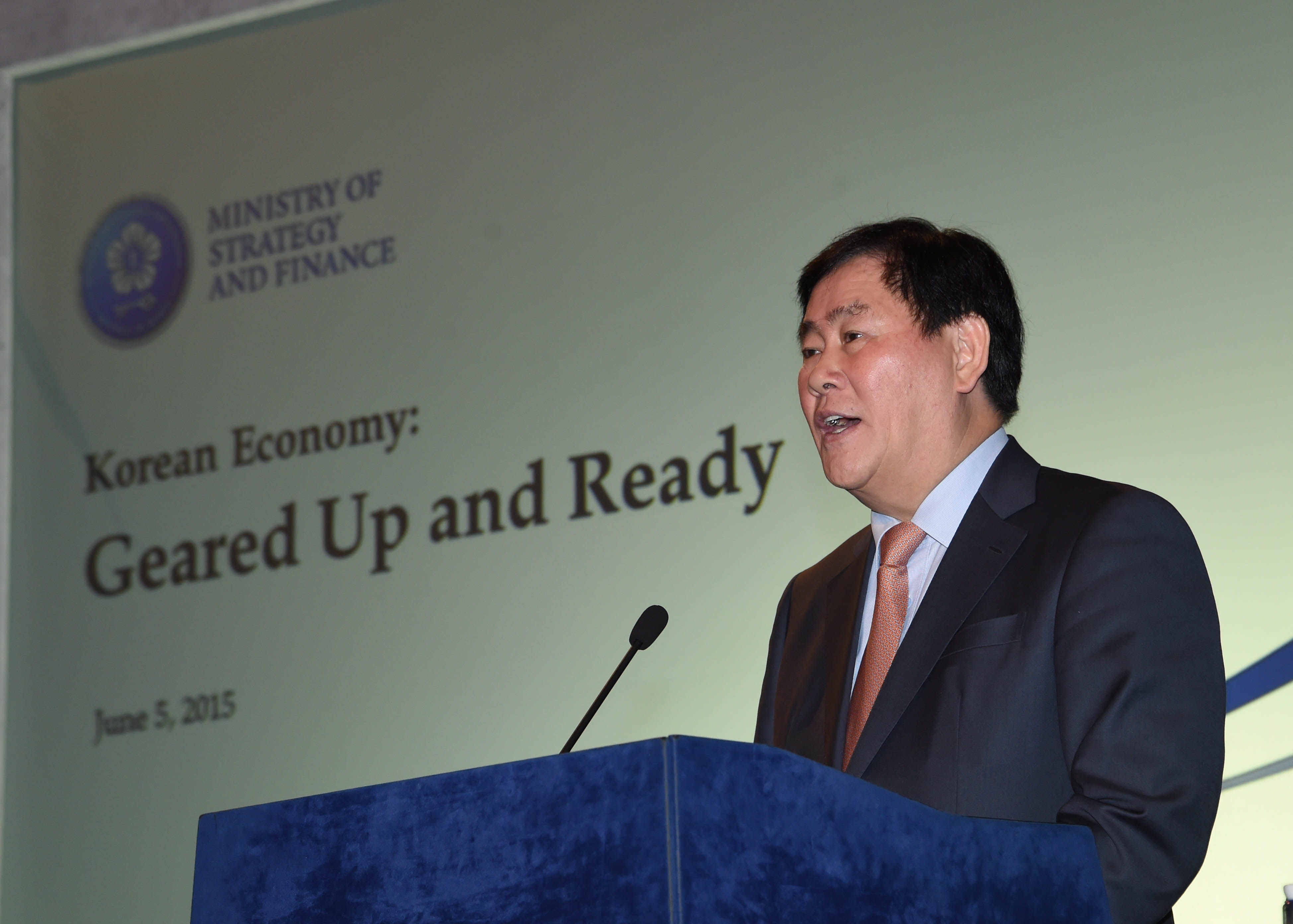 Deputy Prime Minister Choi holds Investor Relations Meeting in London