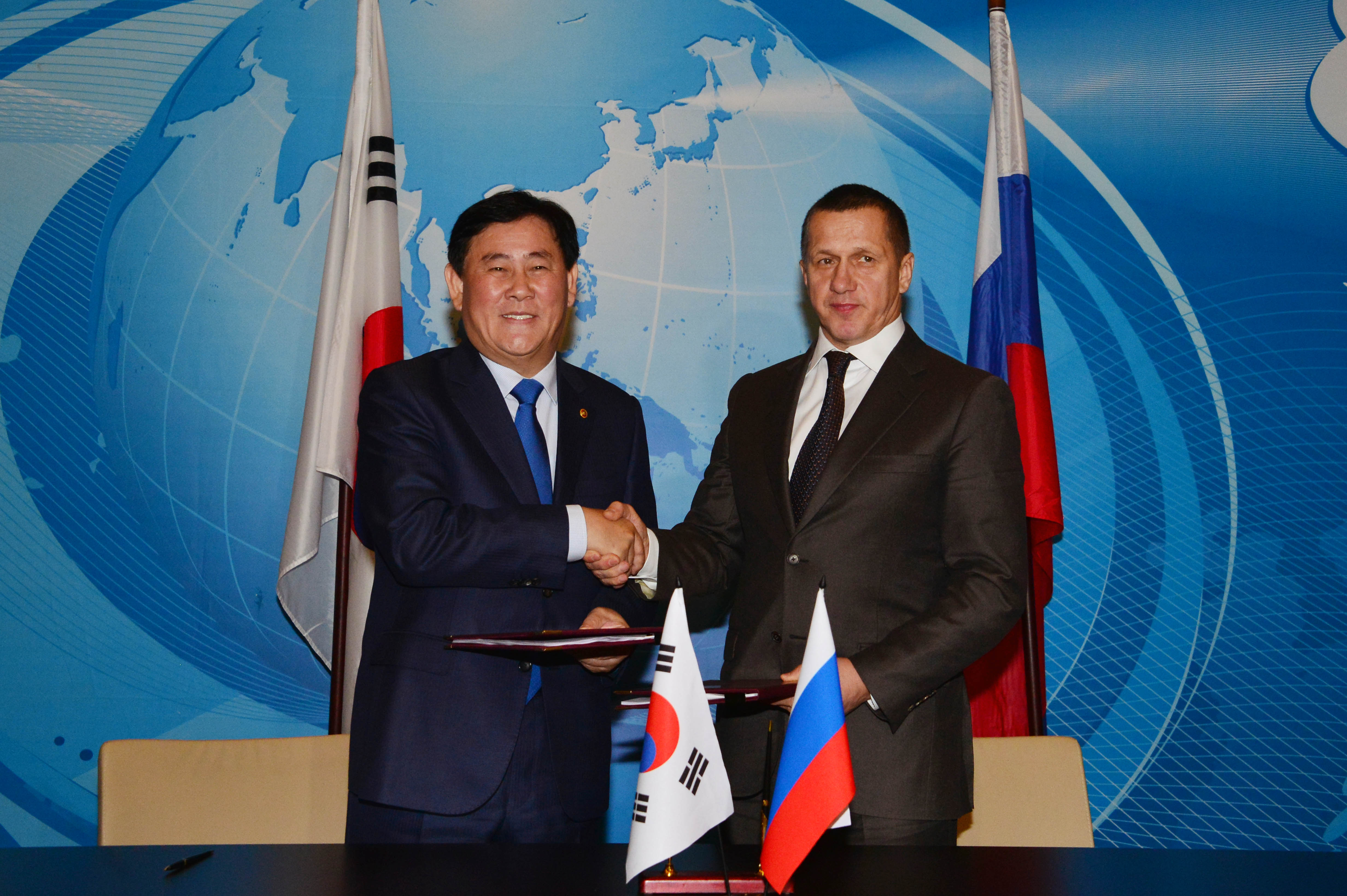 Deputy Prime Minister Choi attends the 14th Meeting of the Korea-Russia Joint Commission on Economic, Scientific and Technological Cooperation